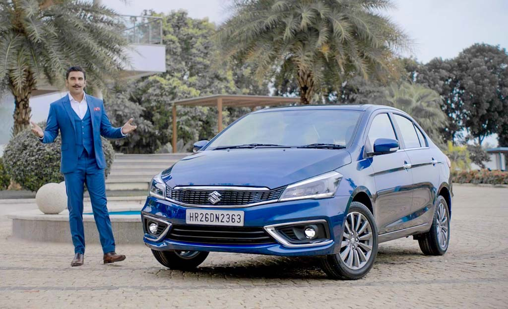 2018 Maruti Ciaz Facelift Review By Ranveer Singh Is Contagious - Video