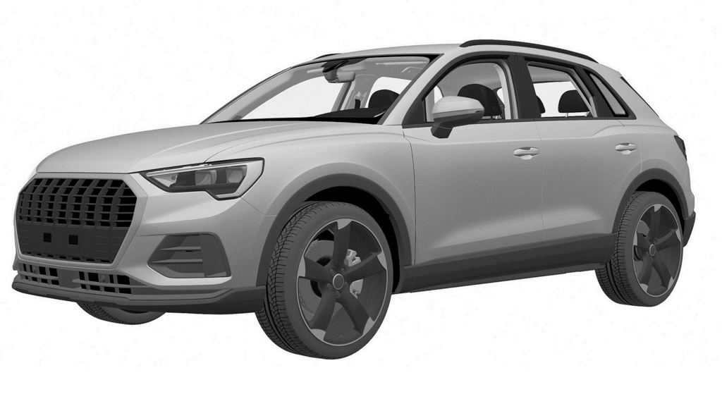 2019 Audi SQ3 Patent Images Leaked_