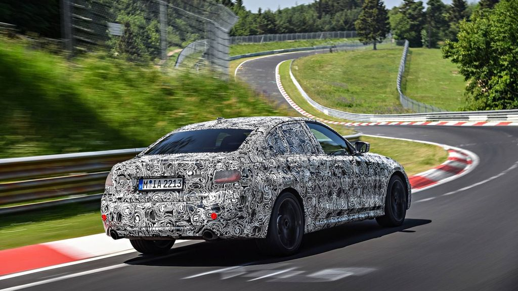 new bmw 3 series spy image rear