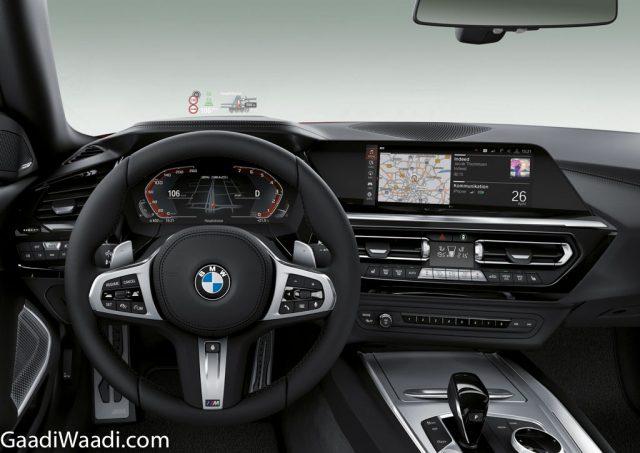 2019 BMW Z4 M40i Interior