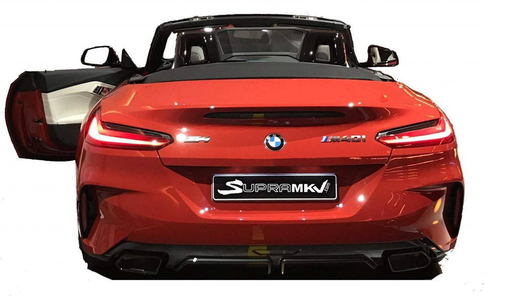 2019 Bmw Z4 Sports Car Leaked Online Fully Showing Exterior