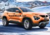 2019 Tata Harrier SUV Rendered