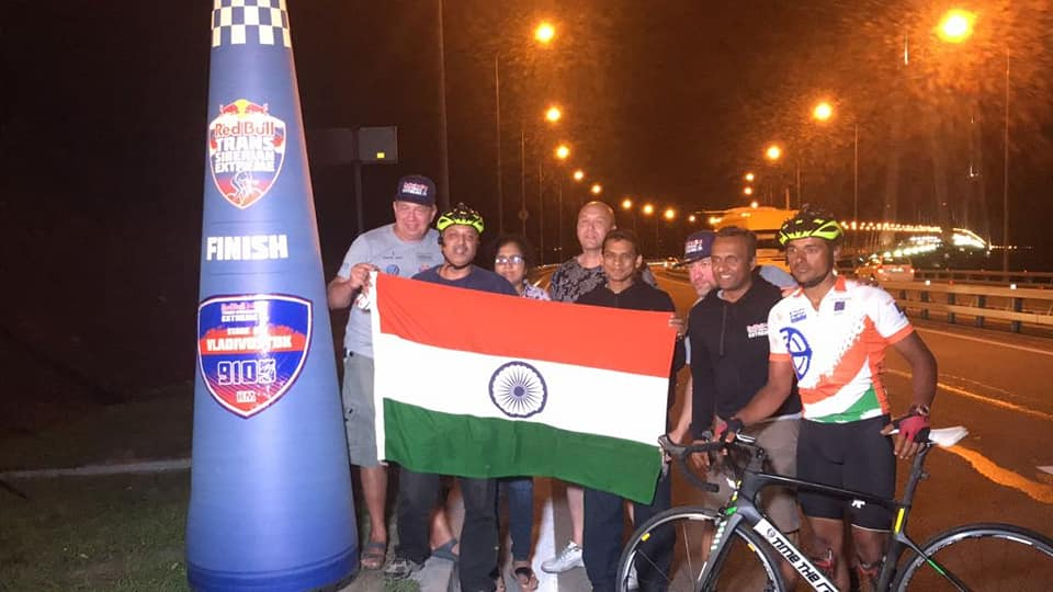 Amit Samarth Finishes 9100 KM Trans Siberian Extreme Race 3