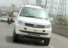 Tata Safari Storme Army White Colour