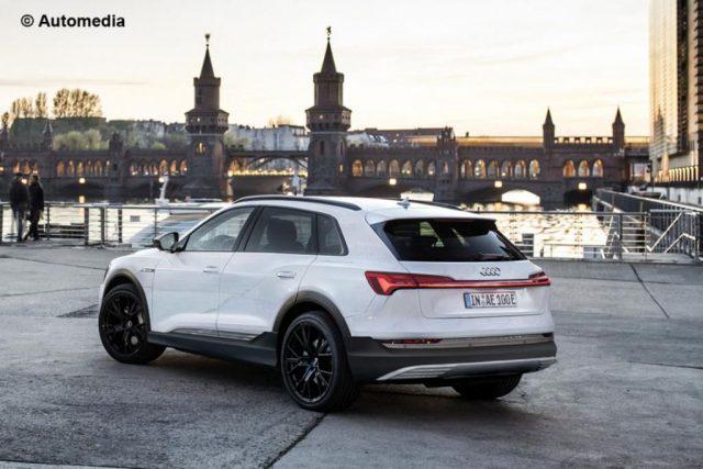 Audi e-tron Electric SUV Rendered 1