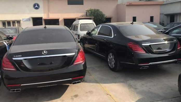 Black-Maybach-cars-pak-pm-truth