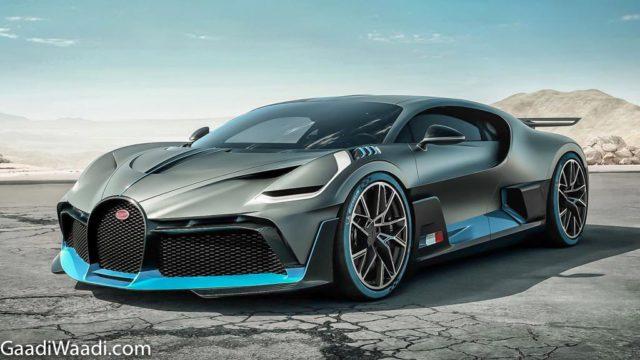 Bugatti Divo Unveiled Front