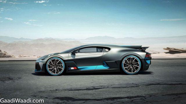 Bugatti Divo Unveiled Side