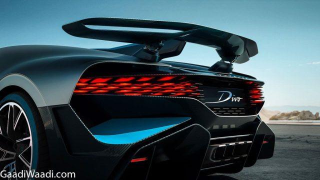 Bugatti Divo Unveiled Spoiler