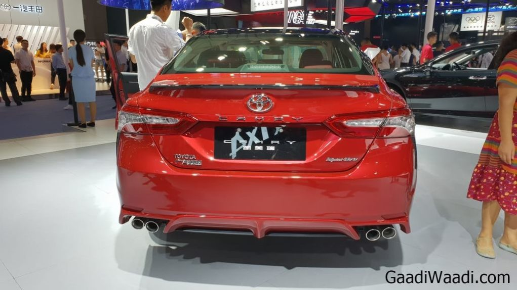 India-bound 8th-gen Toyota Camry - LIVE from 2018 Chendgu Motor Show