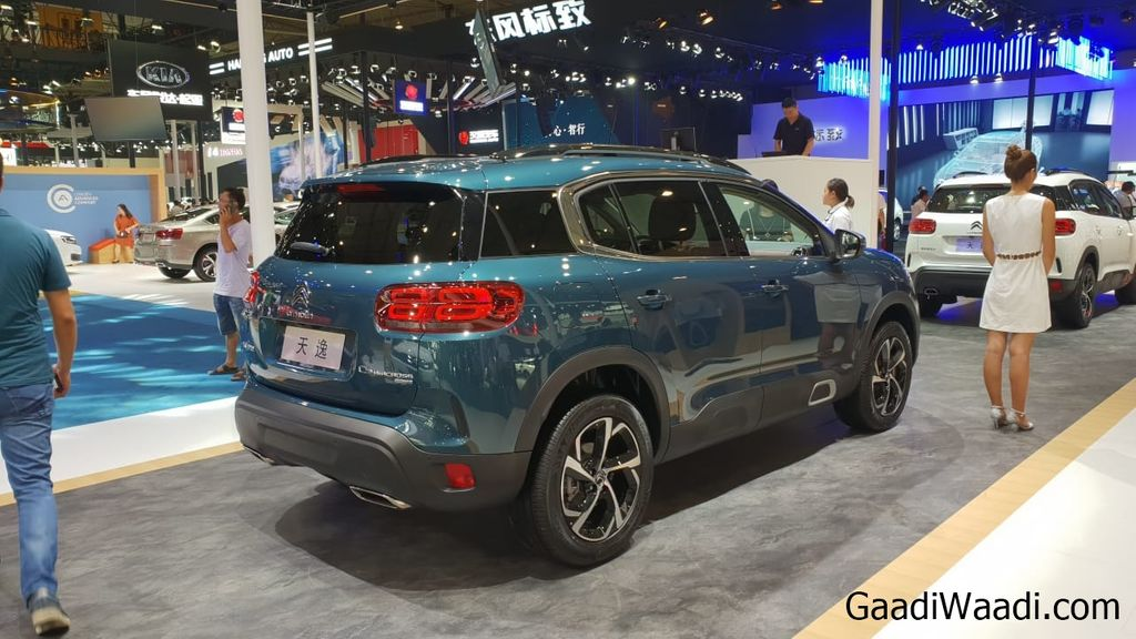 Citroen C5 Aircross showcased at 2018 Chengdu Motor Show