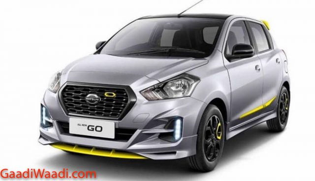 Datsun GO-live Special Edition Revealed 1