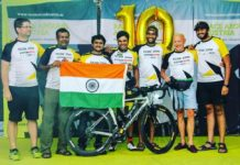 Dr Srinivas Gokulnath Finishes Race Around Austria
