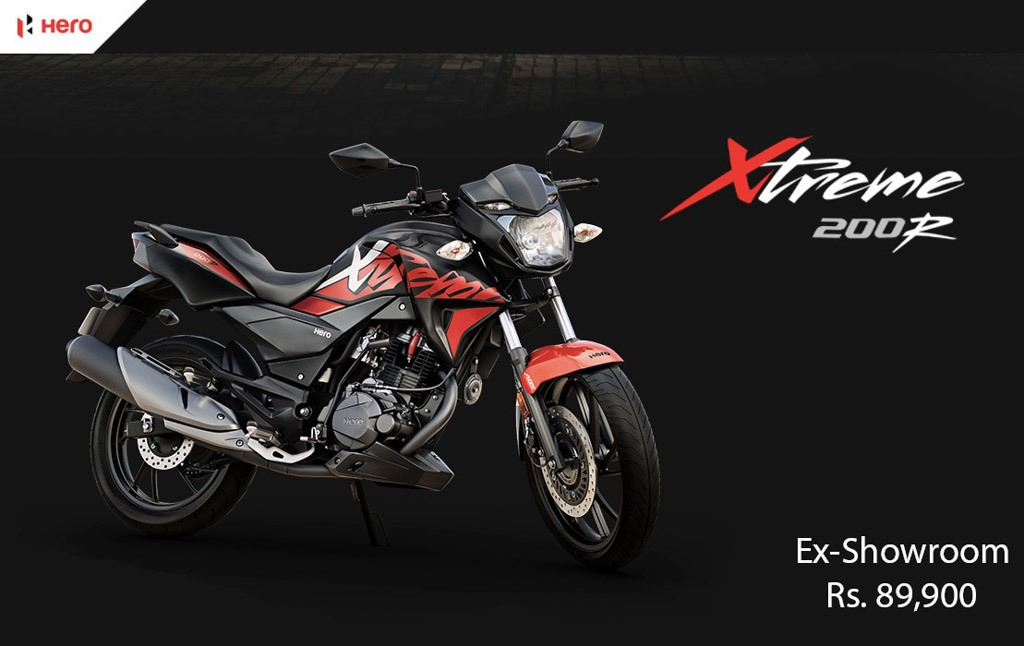 Exclusive- Hero Xtreme 200R Launched For Pan India; Priced At Rs. 89,990