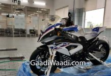 First BMW HP4 Race Delivered India Priced 85 Lakh