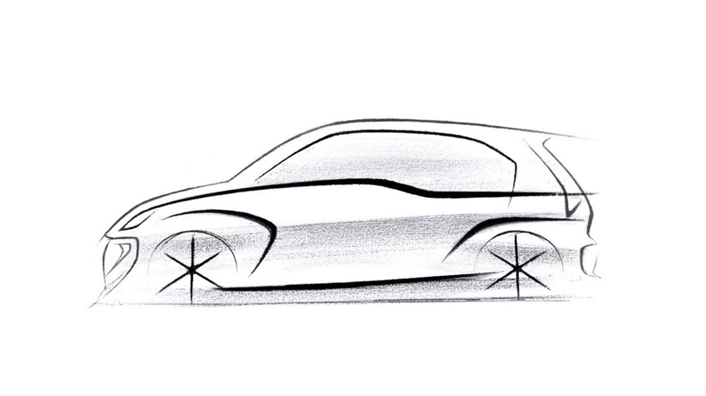 First Official Design Sketch Of New Hyundai 2018 Santro (AH2) Revealed