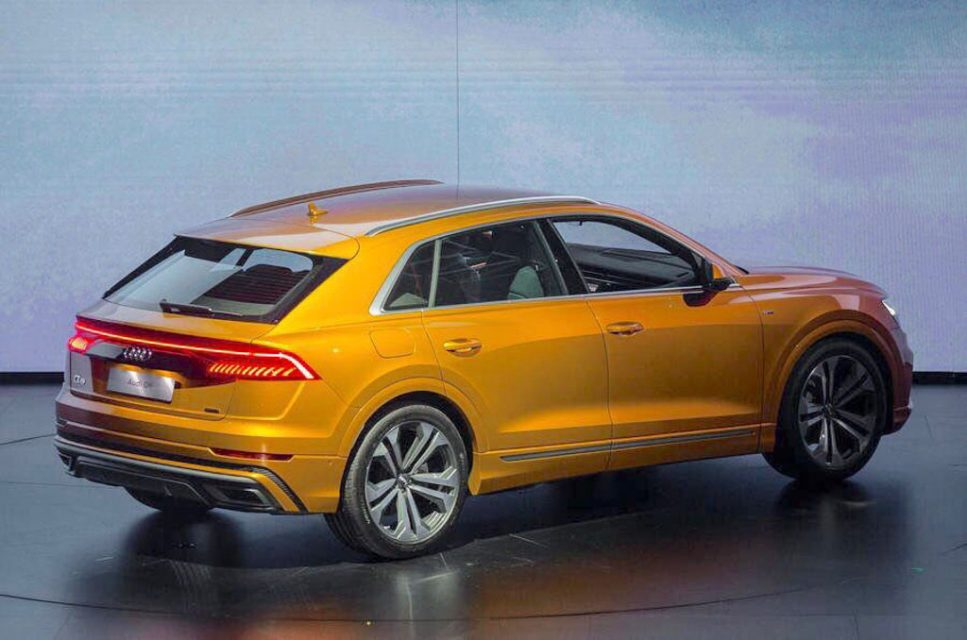 Flagship Audi Q8 SUV Makes Public Debut; India Launch Likely In 2019 1