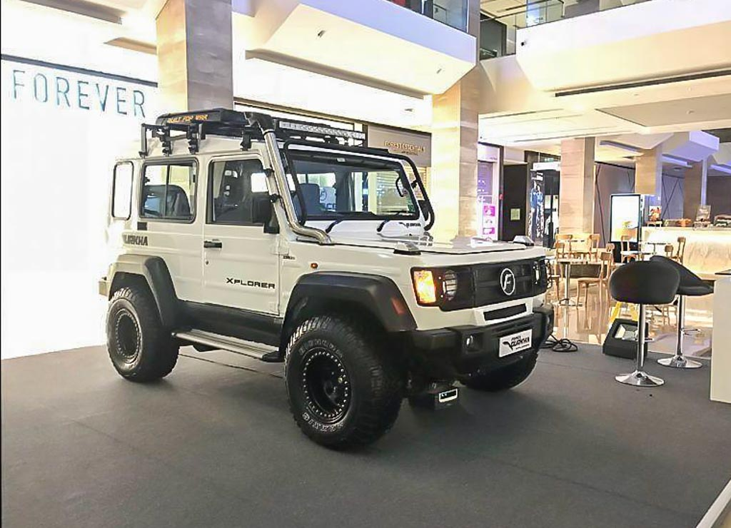 140 HP Force Gurkha Xtreme Displayed With Adorable Old-School Exterior