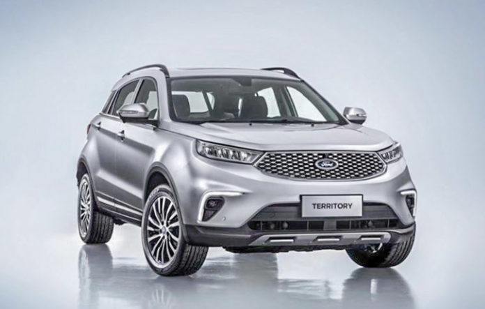 Ford Territory SUV (ford india upcoming launch)