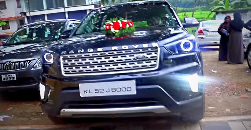 Hyundai Creta Modified To Look Like Range Rover