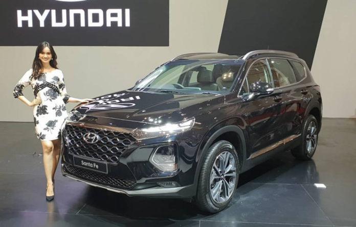India-Bound 2019 New Hyundai Santa Fe Breaks Cover In Indonesia