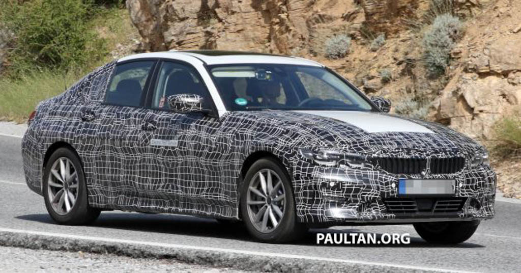 India-Bound BMW 3-Series Electric Version Front