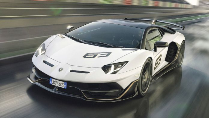 Lamborghini Aventador Svj Unveiled Most Powerful Series Production V12