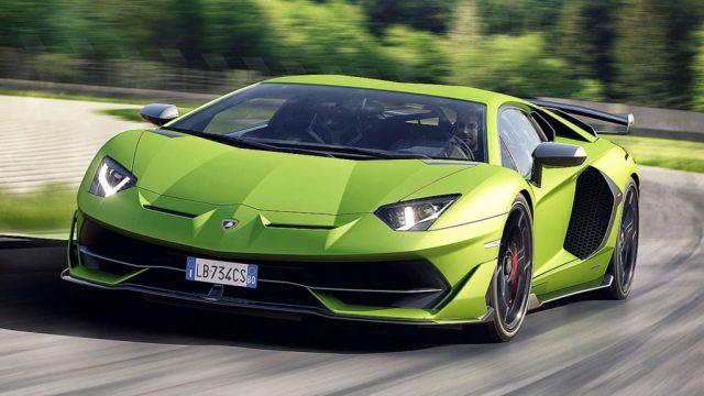 Lamborghini Aventador SVJ_