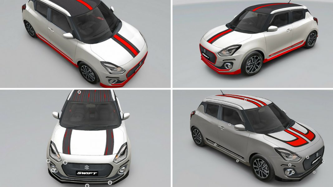 MAruti swift icreate