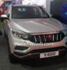 Mahindra XUV700 (Y400) Spotted Undisguised In Silver Colour 1