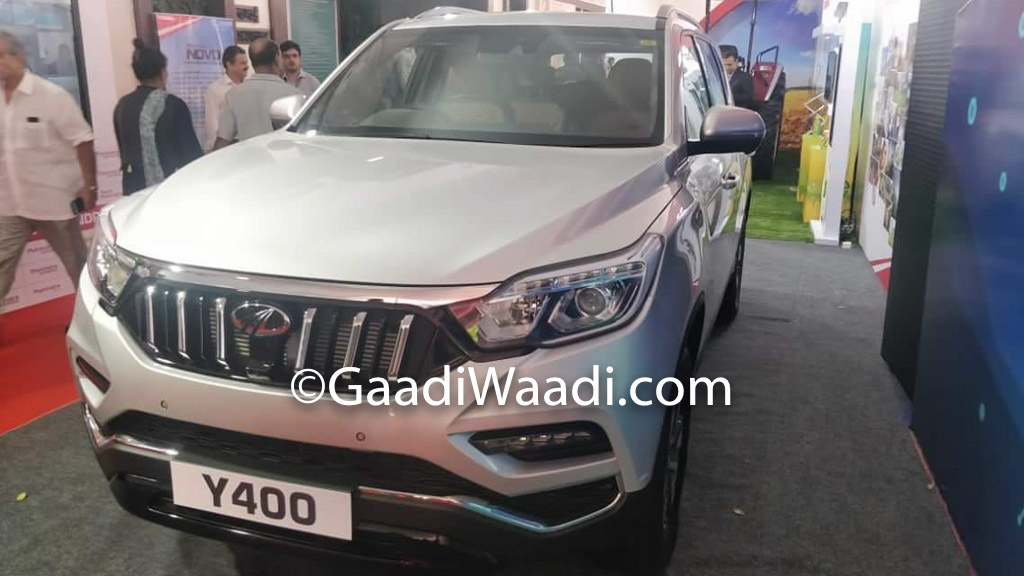 Production-spec Mahindra XUV700 (Y400) Spotted Undisguised In Silver Colour 2