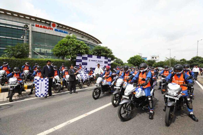 Maruti Suzuki Launches Quick Response Team on Bikes