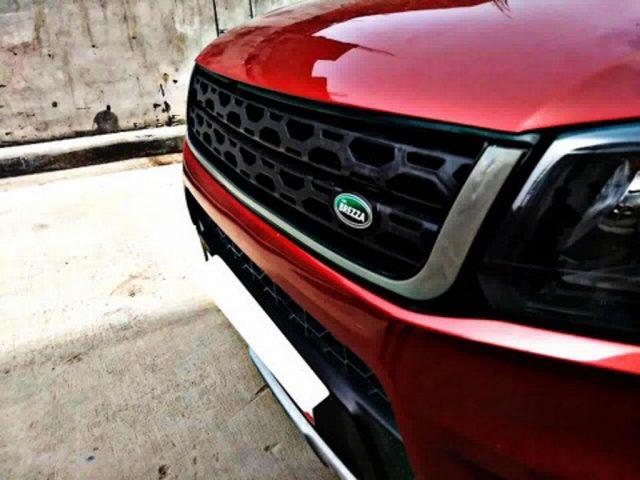 Maruti Vitara Brezza Land Rover Discovery Grille