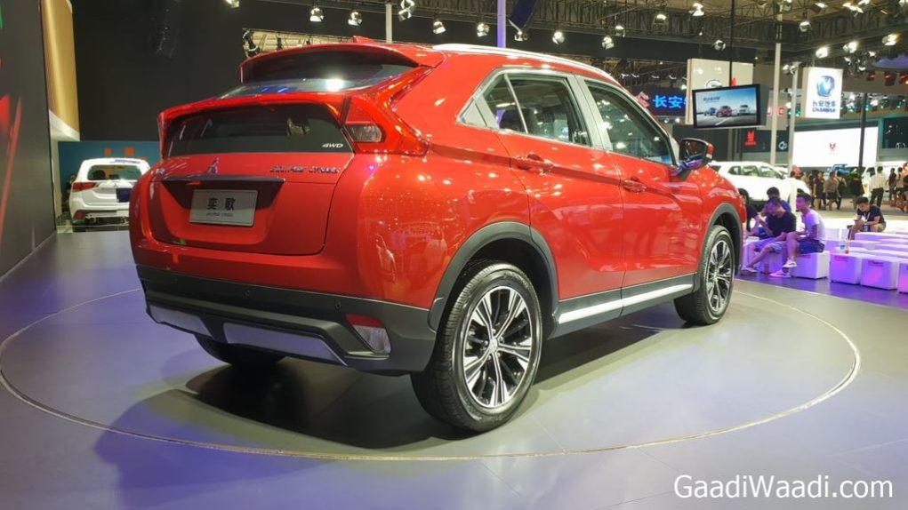 Mitsubishi Eclipse Cross made its global debut at 2017 Geneva Motor Show, it is based on the ASX platform
