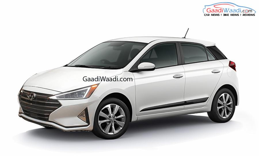 New-Gen Hyundai Elite i20 rendering