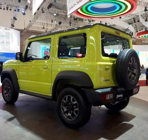 New Suzuki Jimny Small 4x4 SUV Showcased At GIIAS 2018 3