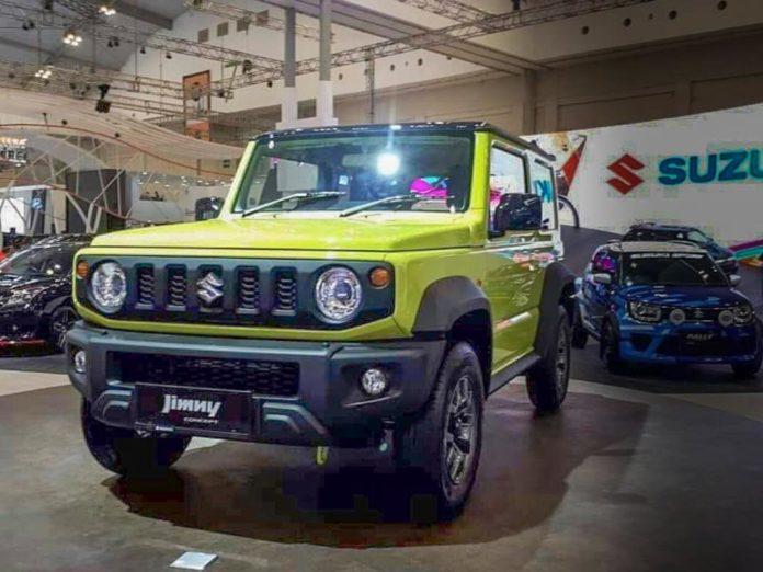 New Suzuki Jimny Small 4x4 SUV Showcased At GIIAS 2018