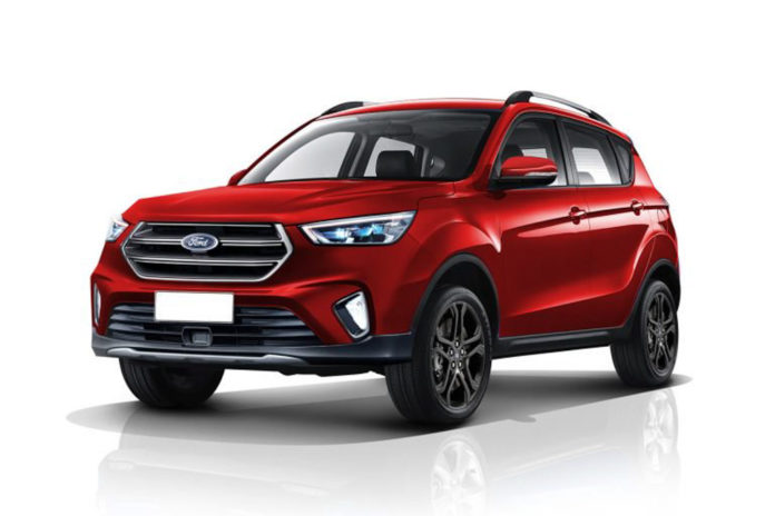Next-Gen Ford EcoSport Rendered 1