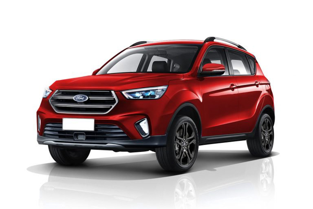 Next-Generation Ford EcoSport To Be Bigger In Size; Launch In 2021 - GaadiWaadi.com thumbnail