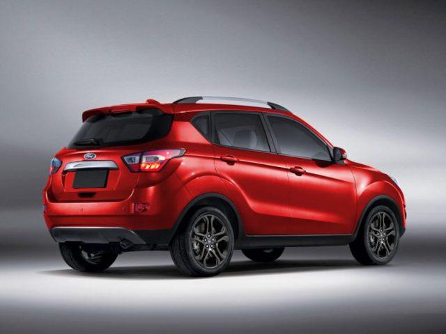 Next-Gen Ford EcoSport Rendered
