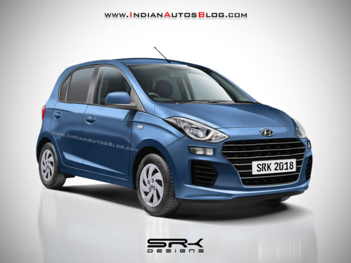 Production-Spec New Hyundai Santro Rendered; Launch This Diwali