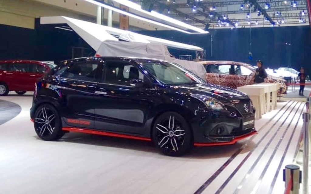 Baleno Sport Concept Is Another Expressive Show Stealer At GIIAS 2018