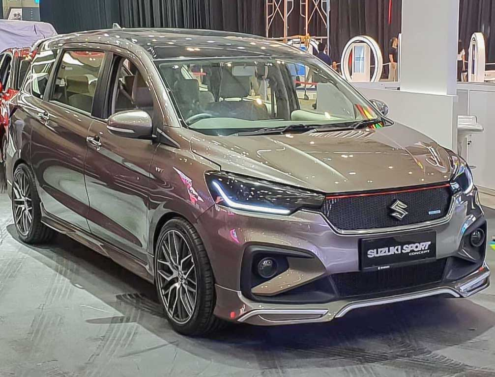 Maruti Ertiga Sport Walk Around Video Launch Likely In Mid 2019