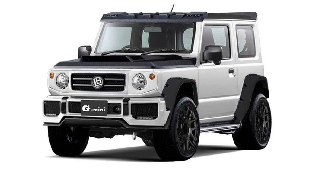 2018 Suzuki Jimny Gets G Class Makeover With Rugged Style
