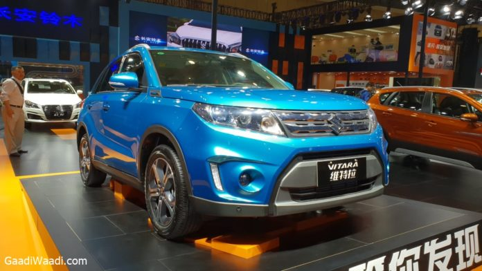 Suzuki-Vitara-facelift-revealed
