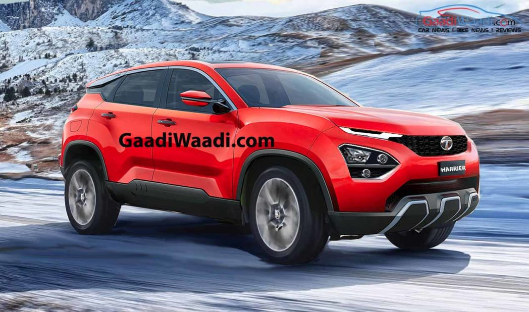 TATA HARRIER RED-1