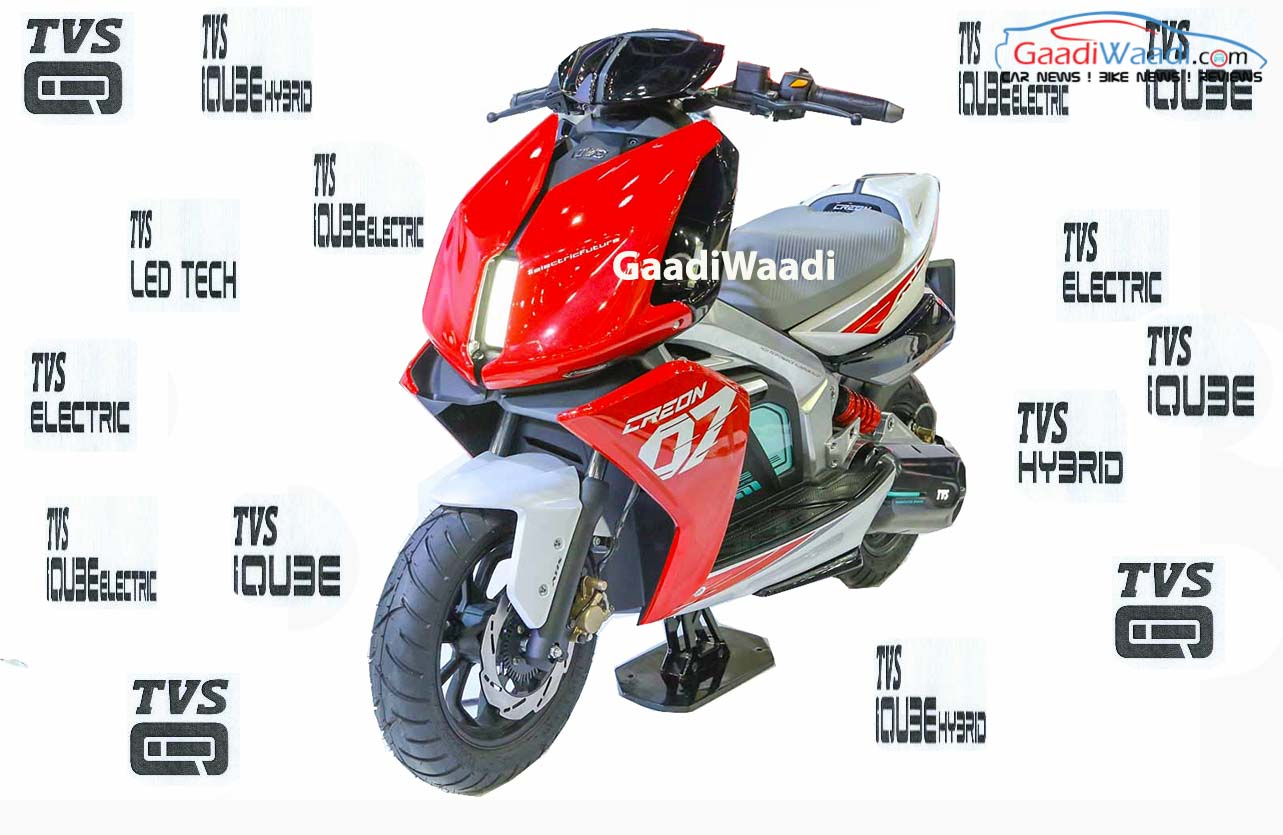 TVS 125CC HYBRID IQUBE CREON ELECTRIC-1 (tvs electric scooter launch)