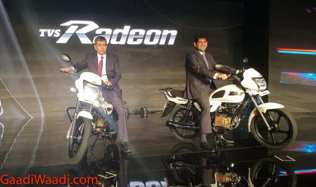 TVS Radeon 110 Launched, Price, Specs, Features, Warranty, Mileage, Booking, Engine 1