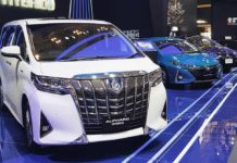 Toyota Alphard Luxury MPV GIIAS 2018