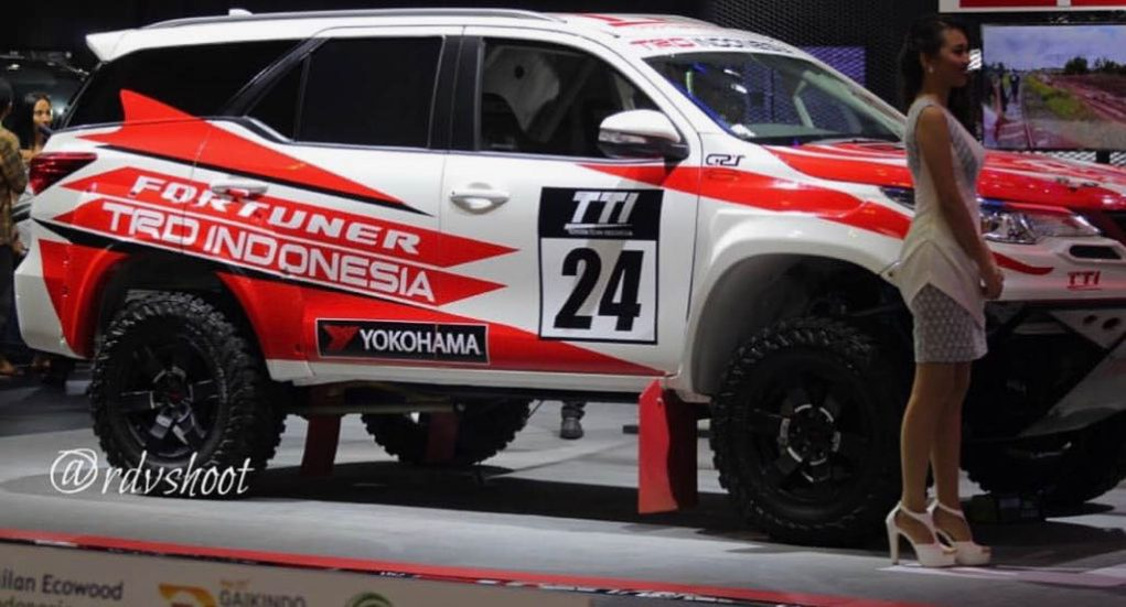 Toyota Fortuner TRD Rally 3